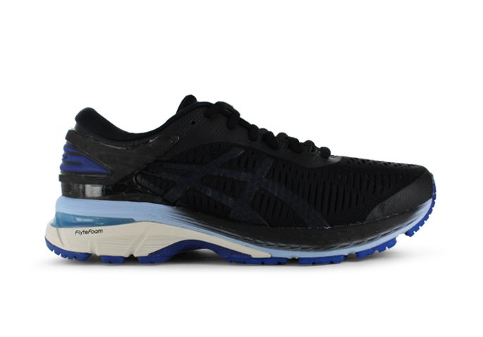 ASICS GEL-KAYANO 25 (D) WOMENS GOLD BLACK BLUE