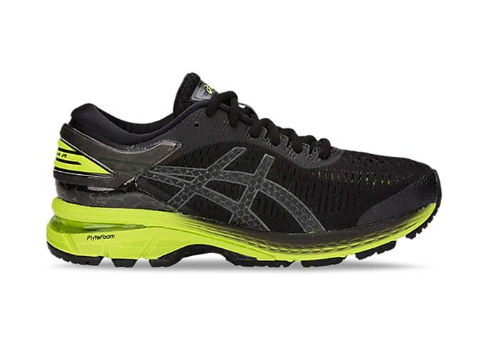 GEL-KAYANO 25 GS / KIDS / BLACK NEON LIME