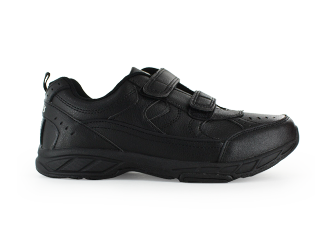 CLARKS VENTURA (WIDE) KIDS BLACK