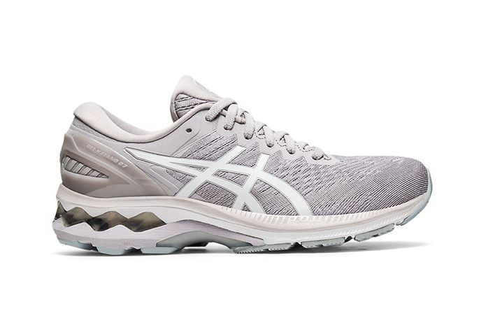 ASICS GEL-KAYANO 27 WOMENS HAZE WHITE