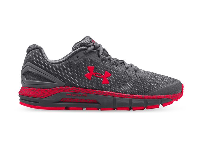 UNDER ARMOUR HOVR GUARDIAN 2 MENS PITCH GRAY RED