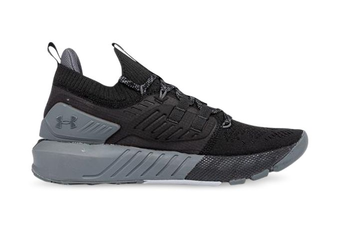 UNDER ARMOUR PROJECT ROCK 3 MENS BLACK PITCH GRAY BLACK