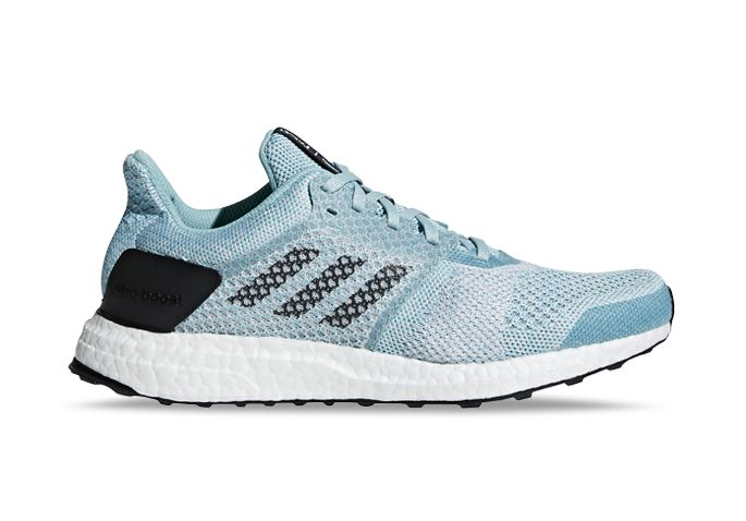 ADIDAS ULTRABOOST ST  WOMENS BLUE WHITE CHAPEA