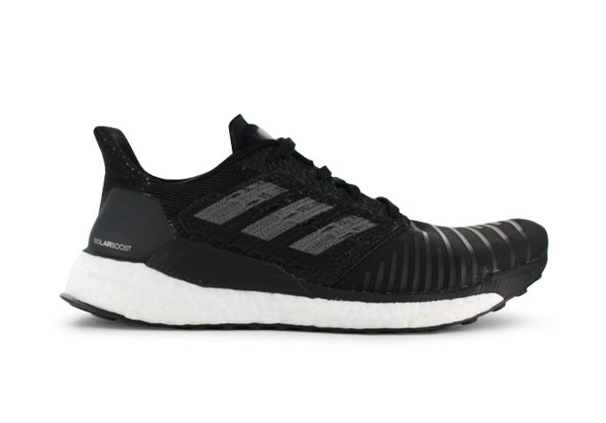 ADIDAS SOLAR BOOST WOMENS CORE BLACK GREY FOUR WHITE
