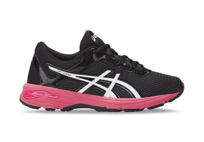 ASICS GT-1000 6 (GS) KIDS DARK GREY WHITE ROUGE RED