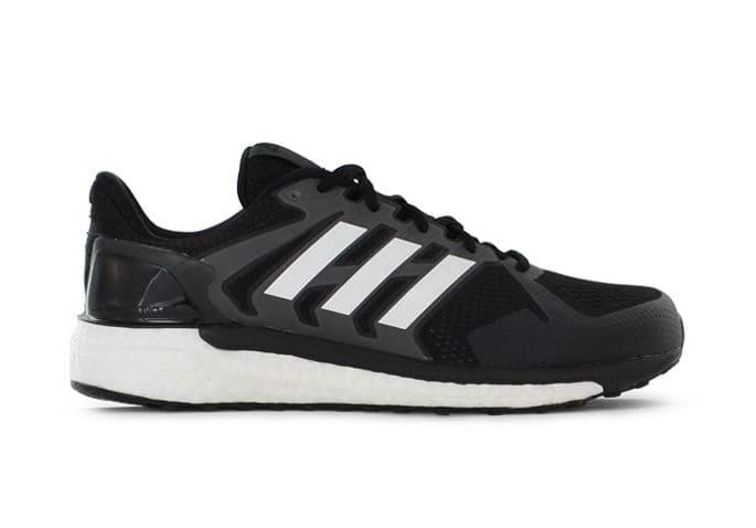 No puedo corazón foso  ADIDAS SUPERNOVA ST MENS CORE BLACK WHITE | Black Mens Supportive Running  Shoes
