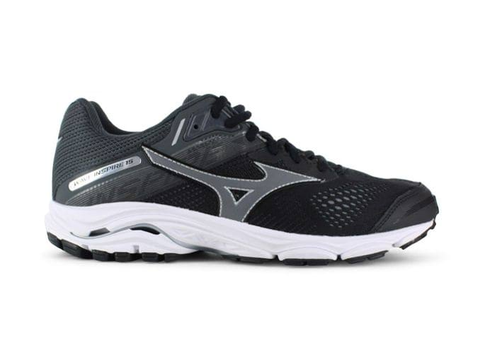 MIZUNO WAVE INSPIRE 15 (D) WOMENS BLACK DARK