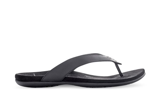 LIGHTFEET WILLOW THONG WOMENS BLACK