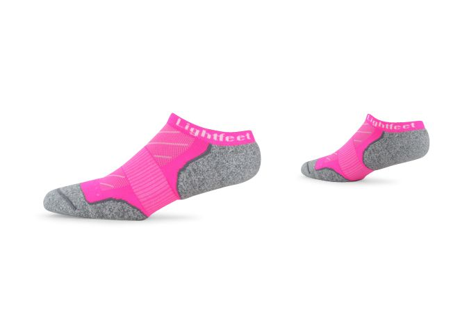 LIGHTFEET EVOLUTION CREW FLURO PINK