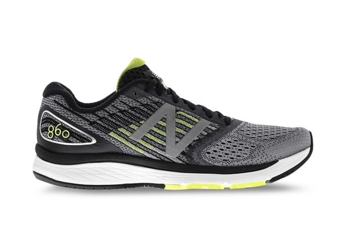 NEW BALANCE M860GY V9 (4E) MENS GREY LIME