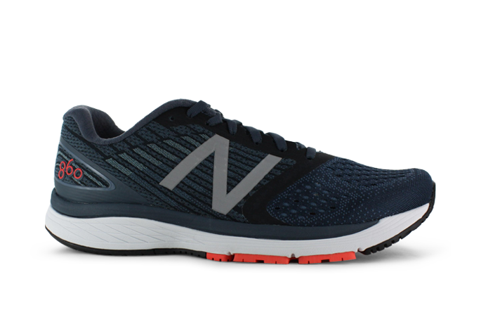 NEW BALANCE 860 (2E) MENS BLUE BLACK