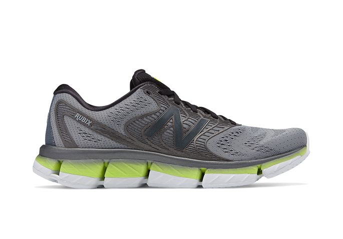 NEW BALANCE MRUBXGY MENS GREY YELLOW