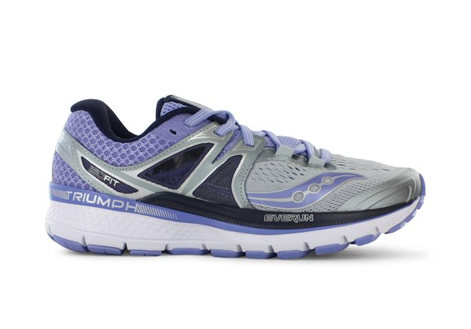 SAUCONY TRIUMPH ISO 3 WOMENS GREY PURPLE