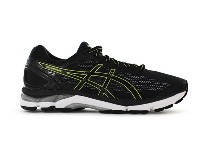 GEL-PURSUE 3 / 2E / MENS / BLACK BLACK ENERGY GREEN