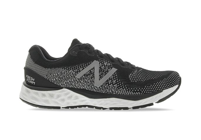 NEW BALANCE W880K V10 (2E) WOMENS BLACK WHITE