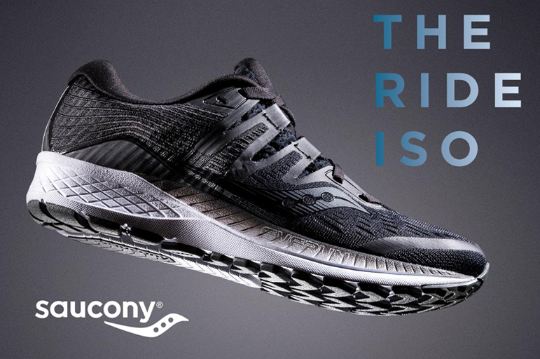 RUN YOUR WORLD WITH SAUCONY RIDE ISO