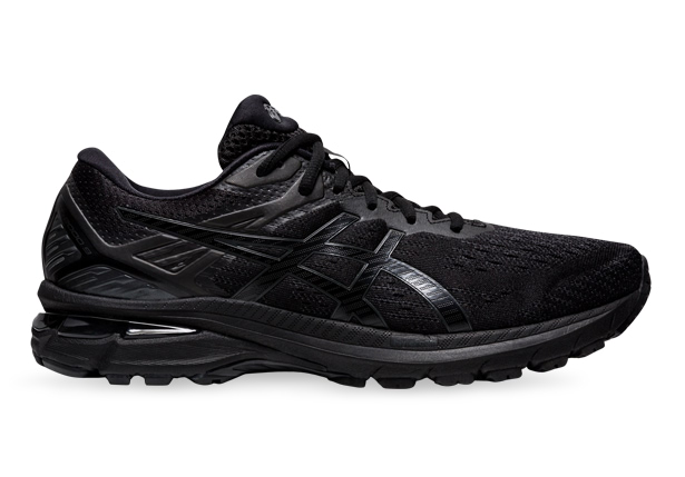 Men's Black running shoe