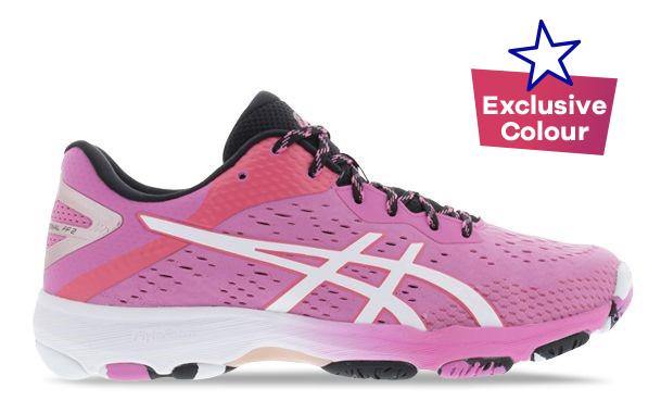 Pink ASICS Netball shoe