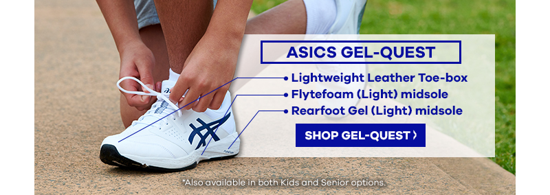 Asics Gel-Quest Senior Sports Shoe | The Athlete's Foot