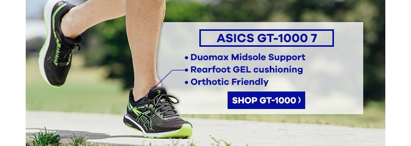 Asics GT-1000 7 Senior Sports Shoe | The Athlete's Foot