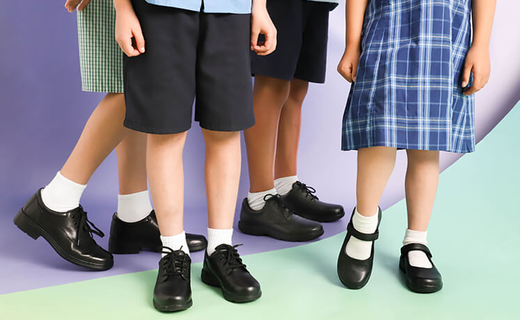 Tips on looking after your new school shoes
