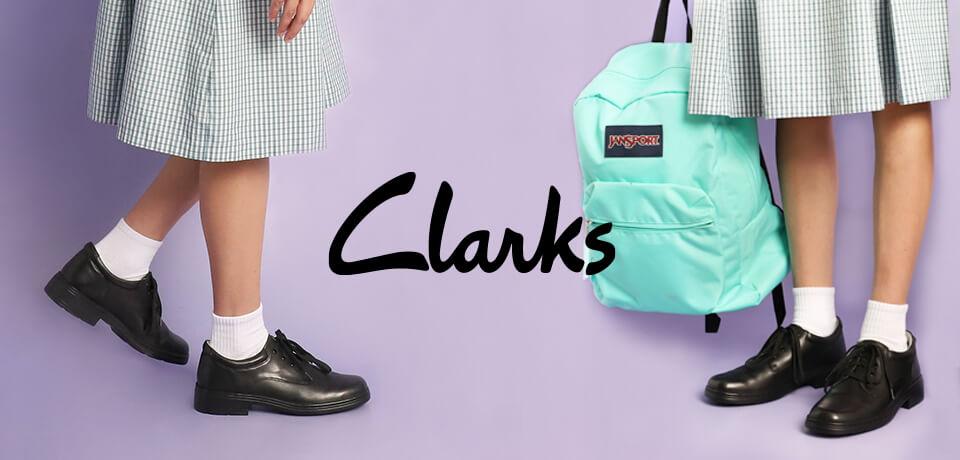 Clarks School shoe range