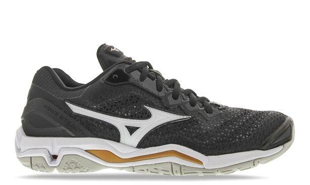 Grey Mizuno Netball shoe