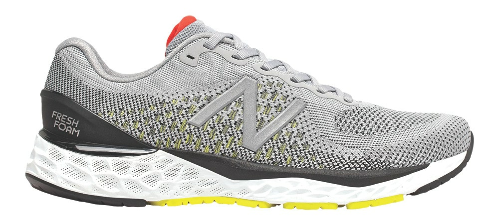 Grey New Balance shoe