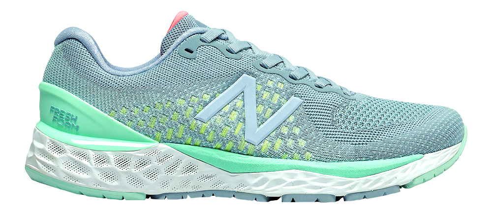 Blue New Balance shoe