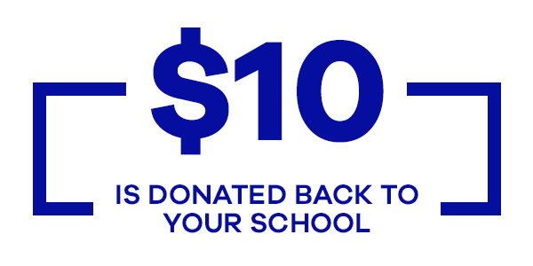 $10 back to your school