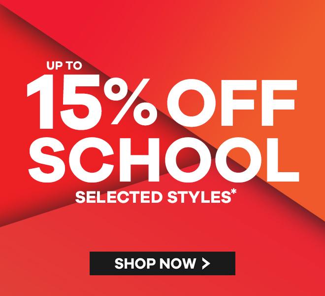 School shoe sale