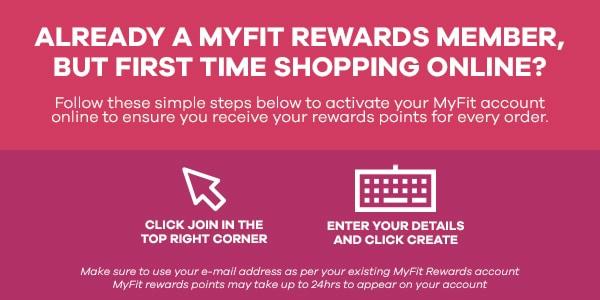 MyFit reward members